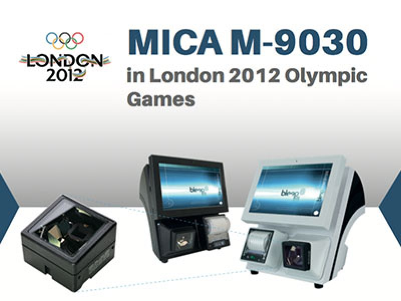 MICA M-9030 in London 2012 Olympic Games