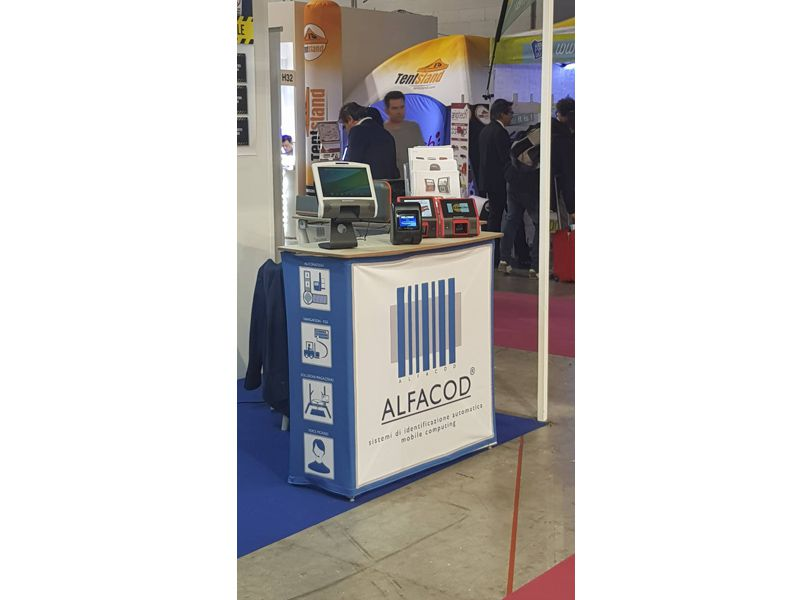 Scantech ID with Alfacod at Viscom Italy
