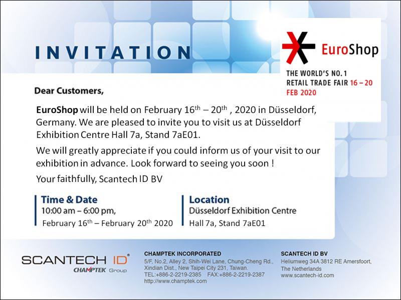 2020 EuroShop Feb.16-20 in Dusseldorf, Germany !